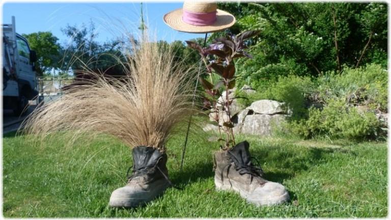 création botte chapeau